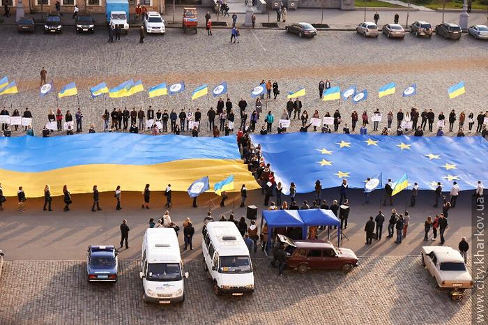 Харьковчане за вступление в Евросоюз